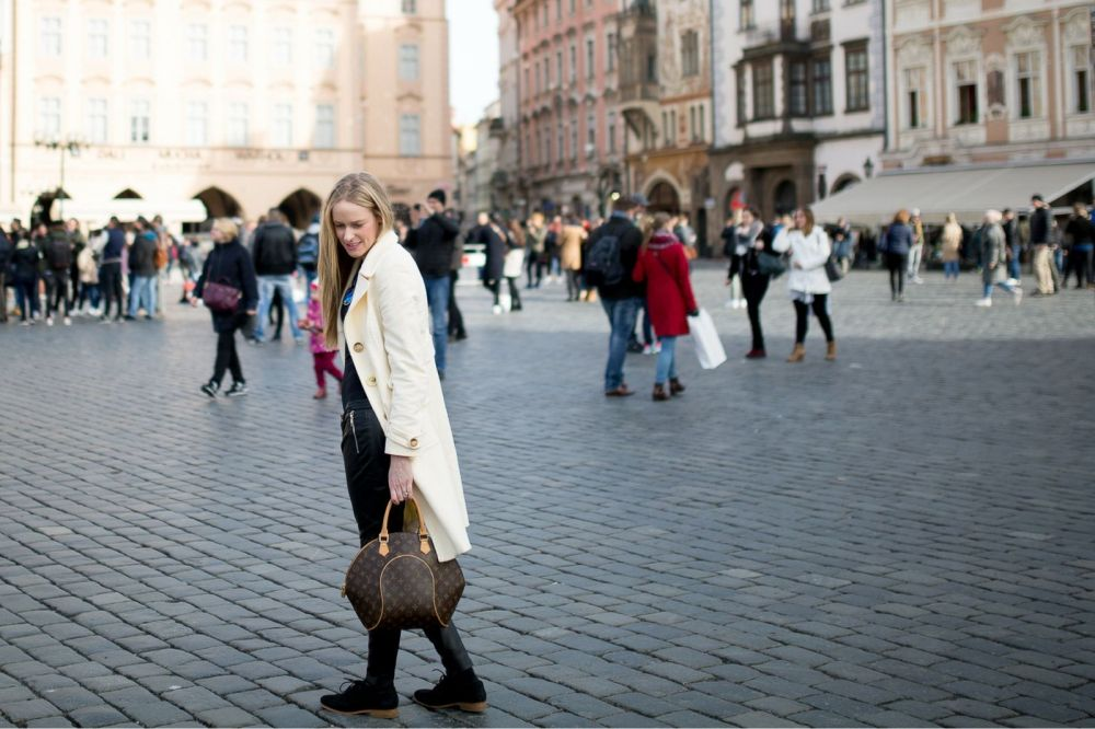 old town square cream coat
